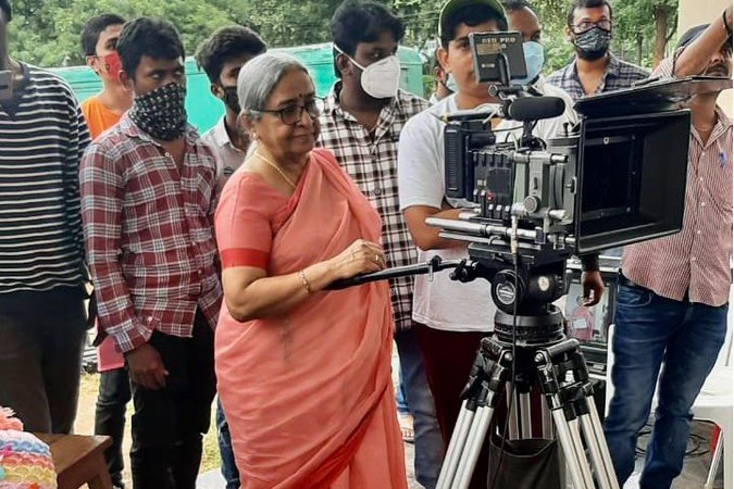 RGV My mom Suryavathi switched on the camera today