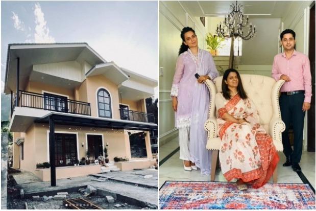 Kangana Sisters New Home in Himalayas goes Viral