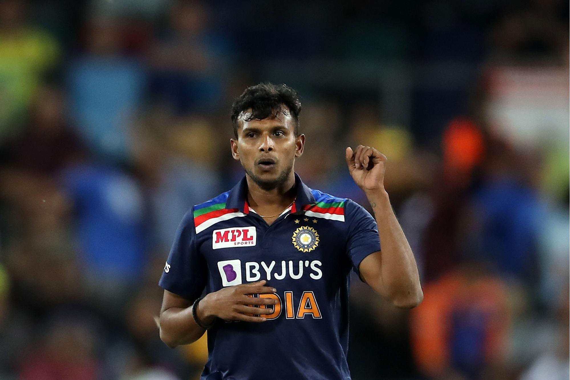 Natarajan to be replace injured pacer Umesh Yadav