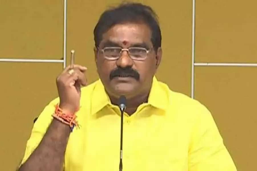 Jagan has to sign on TTD declaration says Nimmala Rama Naidu