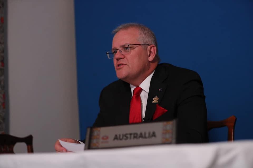 Australia PM Scott Morrison comments on China dossier