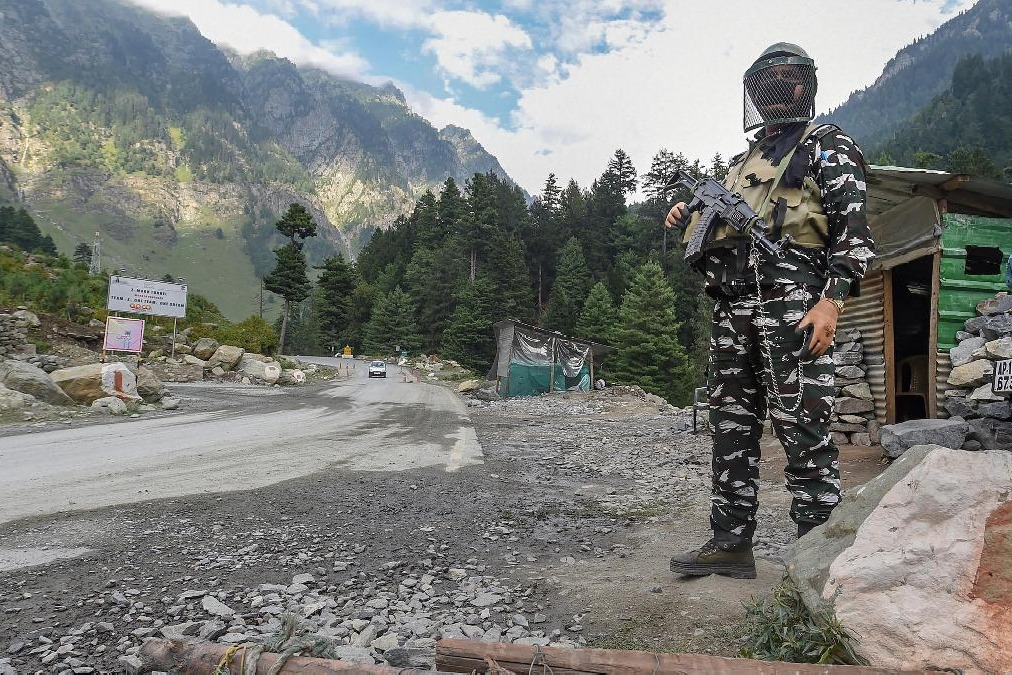 Indian army handed over apprehended soldier to China