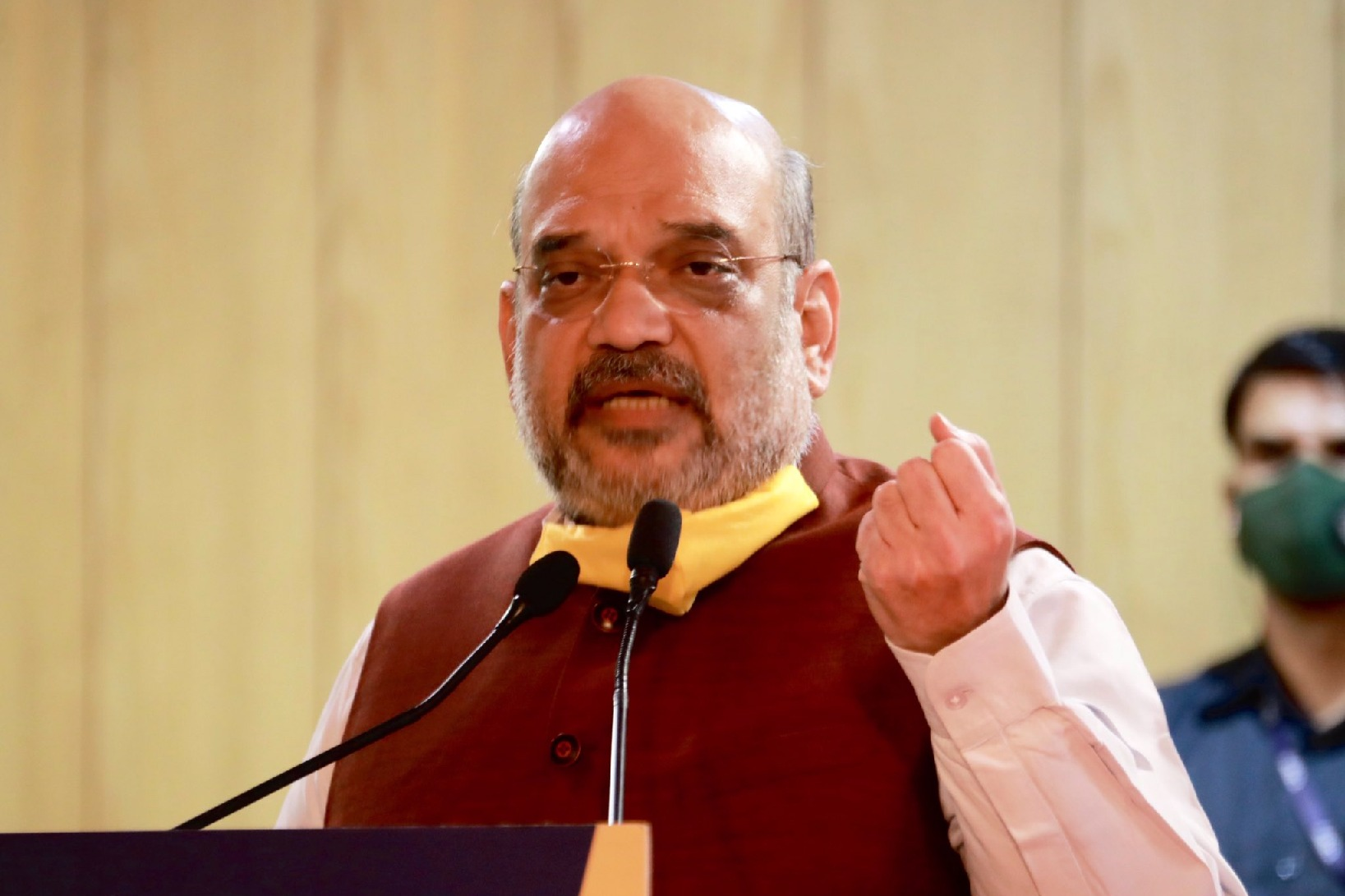 Union Home Minister Amit Shah asks Owasi give in writing about Rohingyas issue