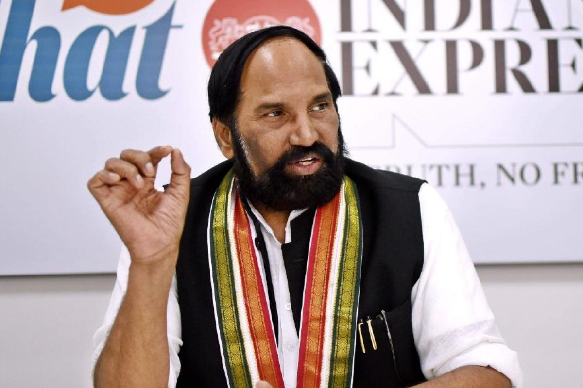 TPCC Chief Uttam Kumar Reddy fires on KCR once again