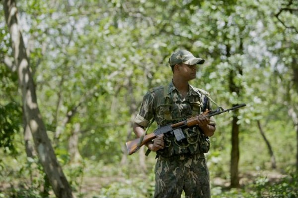 Encounter in kothagudem dist three maoists dead