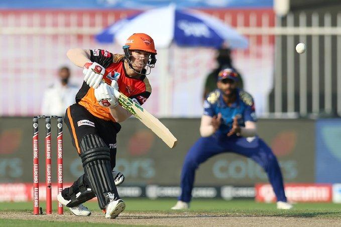 Sunrisers Hyderabad lost to Mumbai Indians in Sharjah