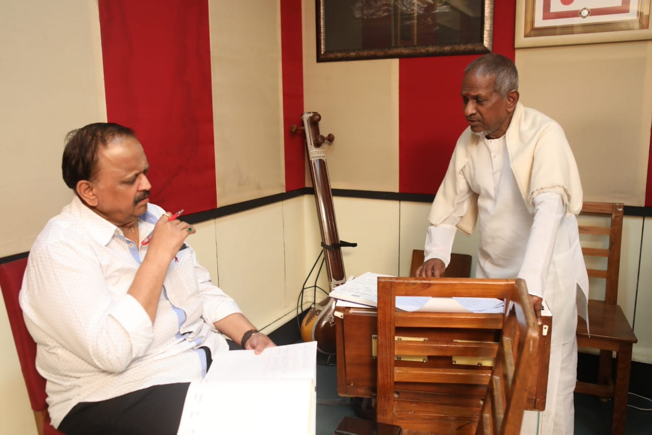 Ilayaraja gets emotional on SPBs death
