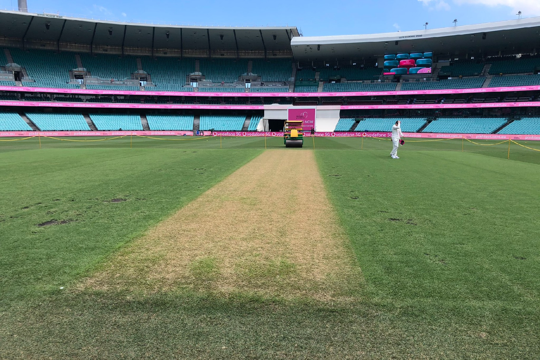 Sydney test first day between India and Australia