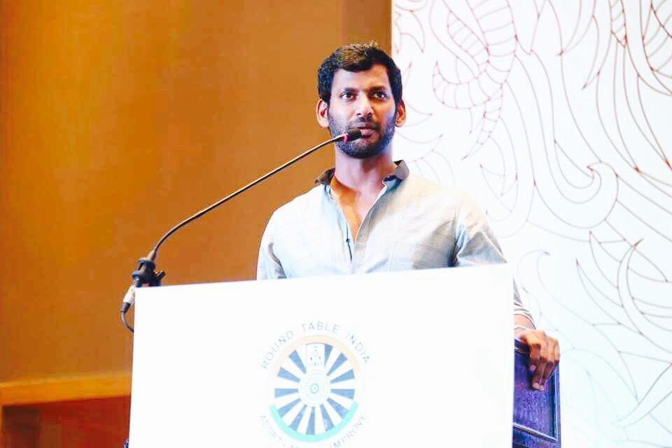 Madras HC issues notice to Vishal
