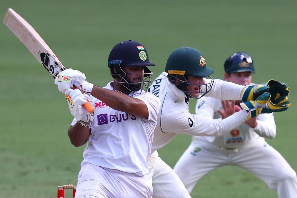 Team India hits out Australia in Brisbane test