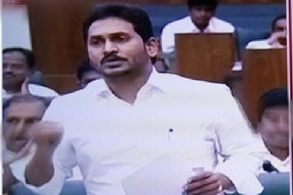 CM Jagan comments on Panchayat Raj act amendment bill