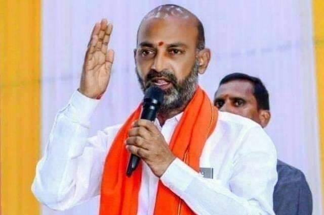 Bandi Sanjay criticizes CM KCR over LRS issue