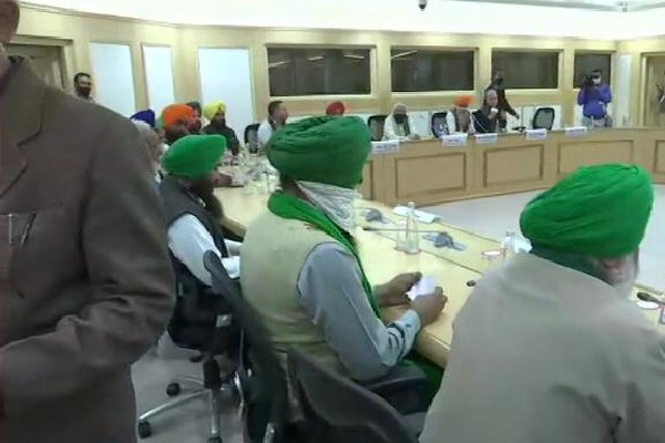 Farmers meeting with Union Ministers ended in a incomplete manner