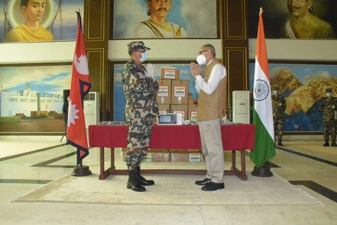 india helps nepal