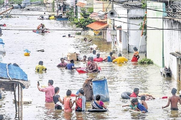 Central team to visit flood hit Telangana