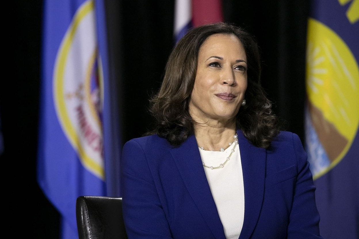 Kamala Harris Receives Her Second Dose