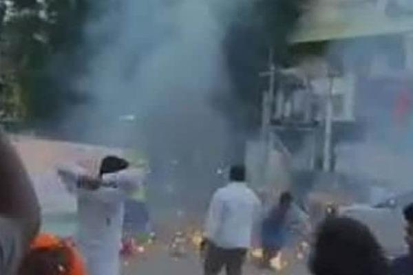 Explosion in Modi Birthday Celebrations
