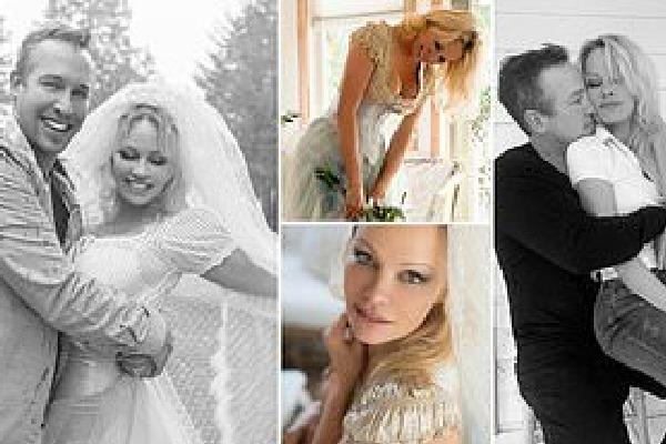 Pamela Anderson marries her bodyguard