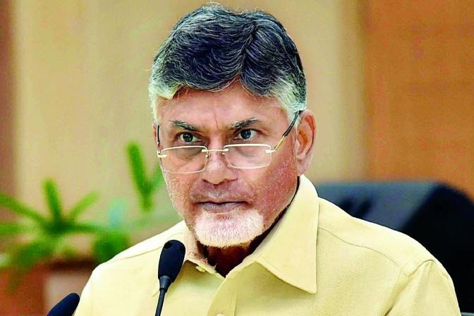 Chandrababu press meet over housing in state