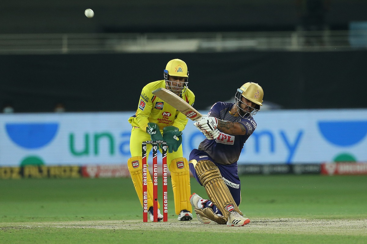 Nithish Rana registers a fine innings against CSK
