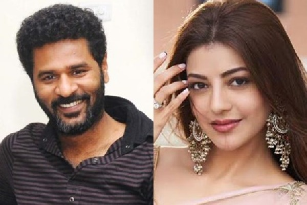 Kajal Aggarwal to pair with Prabhu Deva