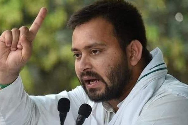 Nitish Kumar is highly corrupted says Tejashvi Yadav