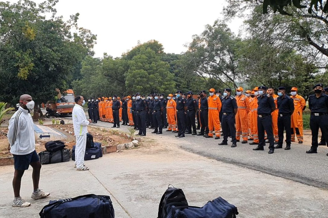 NDRF teams deployed in Tamilnadu and AP