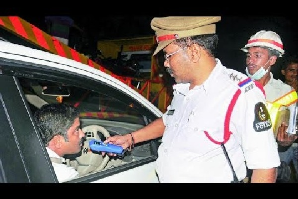 No drunk and drive tests in hyderabad