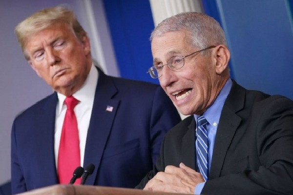 US could start reopening in May says top virus expert Fauci