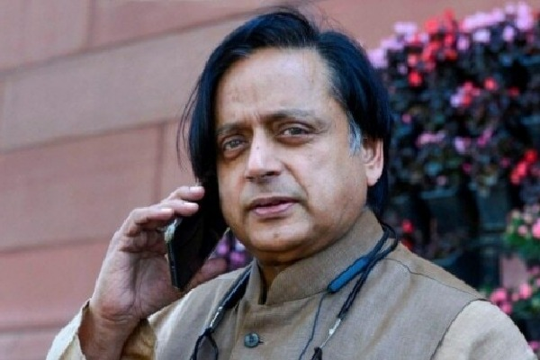 Congress leader Shashi Tharoor fires on US President Donald Trump