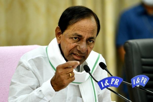 CM KCR fires on Centre and slammed package