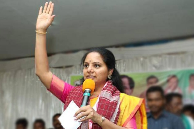 TRS Leader K Kavitha will file Nomination for Council