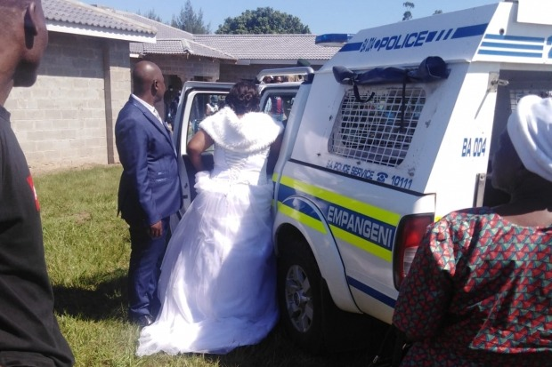 Bride Groom And 50 Guests Arrested For Holding Wedding During Lockdown