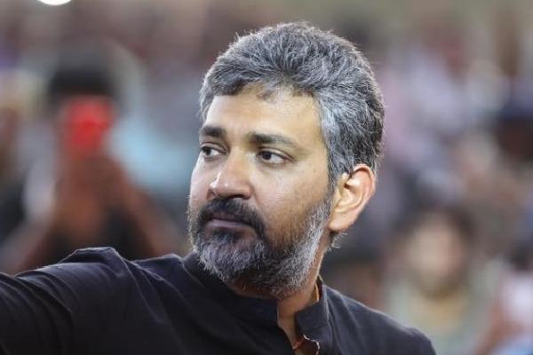 Rajamouli busy with RRR Movie