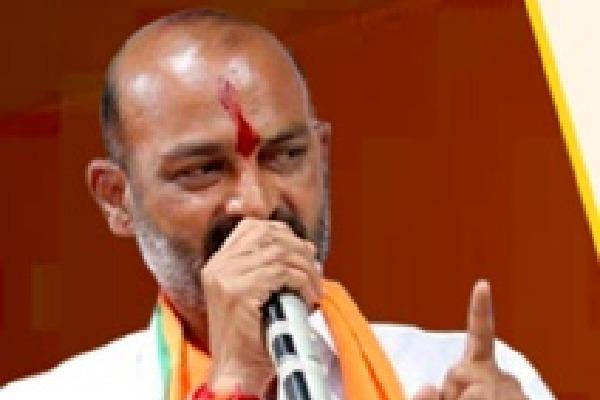 Telangana BJP President Bandi Sanjay lashes out Assadudding Owaisi