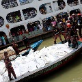 Boats collided in Bangladesh