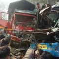 10 killed injured in road accident on Agra Moradabad Highway