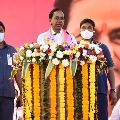 CM KCR comments on BJP campaign with national level leaders