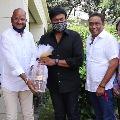 Chitrapuri colony new committee members met Megastar Chiranjeevi