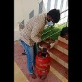 Liquor bottles in a gas cylinder as illegal transport busted in Krishna district
