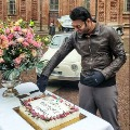 Prabhas celebrates his birthday on Radhe Shyam sets