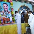 CM KCR pays tributes to martyred Col Santosh Babu