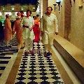 Pawan Kalyan arrives Udaypaur to attend Niharika marriage