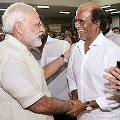 Modi wishes to rajinikath on his birth day