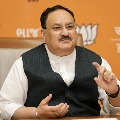 BJP National Chief JP Nadda tested corona positive