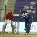 Mumbai posts huge total after Rohit and Pollard blasts