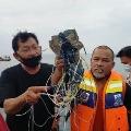 Indonesia Flight Broken After Touching Ocean