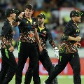 Australia cricket team wears new jerseys