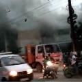 Fire broke out in Delhi Public School in Hyderabad