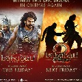 Bahubali series releasing again in cinemas